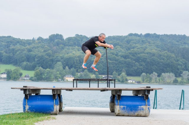 Jumping am Mattsee